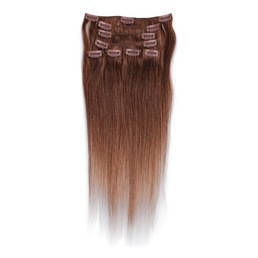 a3a60b12 Mediumbrun - #8 - Hair Extensions - LuxStyle NO
