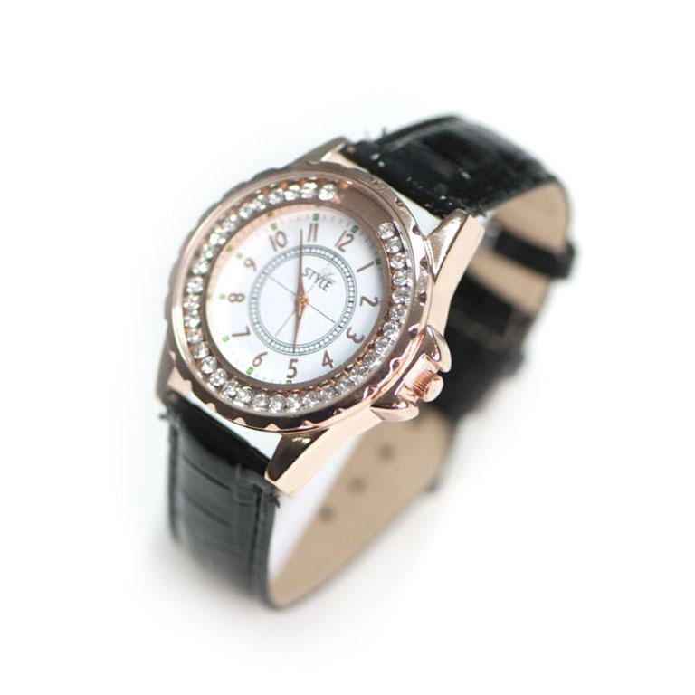 Leder Uhr Schwarz Modeuhren Stylelux De