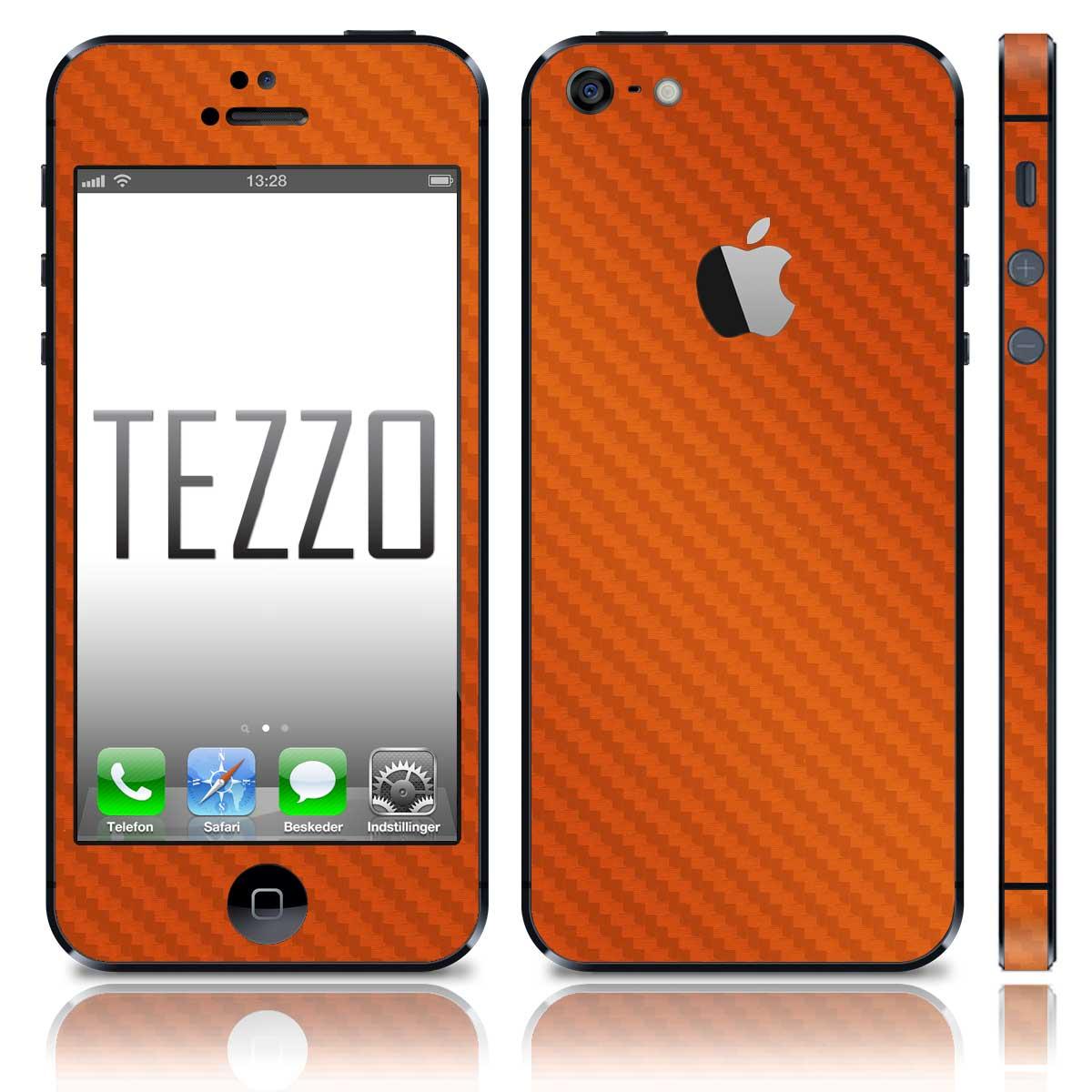 orange carbon iphone 5 iphone 5 5s stylelux uk. Black Bedroom Furniture Sets. Home Design Ideas