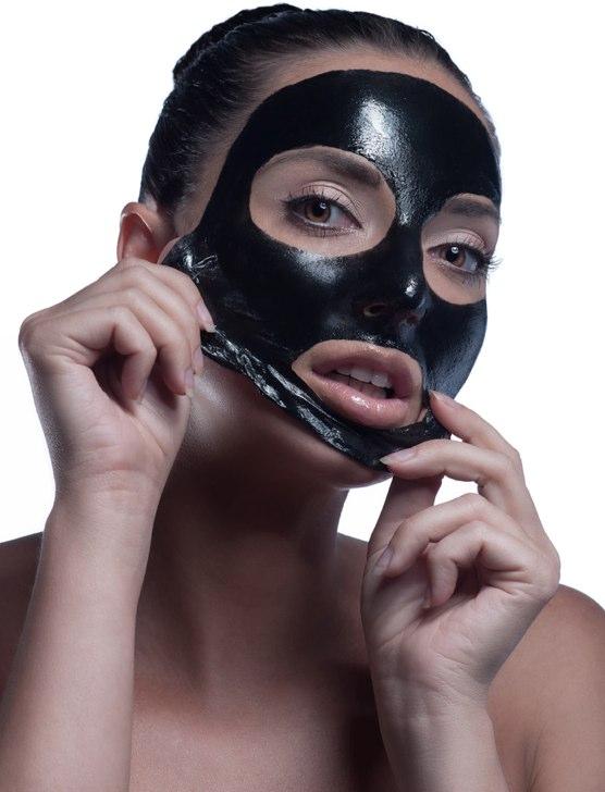 ansiktsmask svarta pormaskar