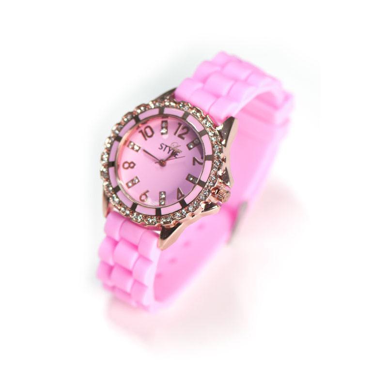 Luxus Uhr Pink Modeuhren Luxstyle Ch